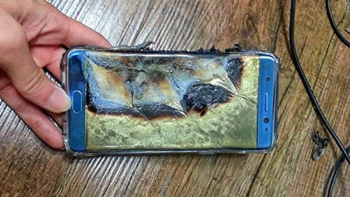 Samsung Galaxy Note 7 Injury Lawsuit