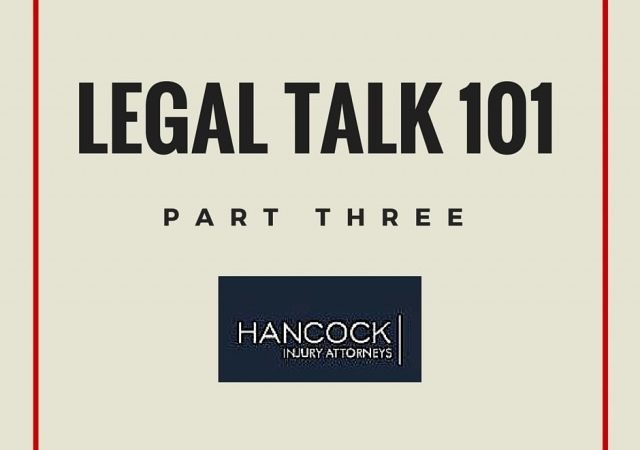 Legal Talk 101 – Part 3