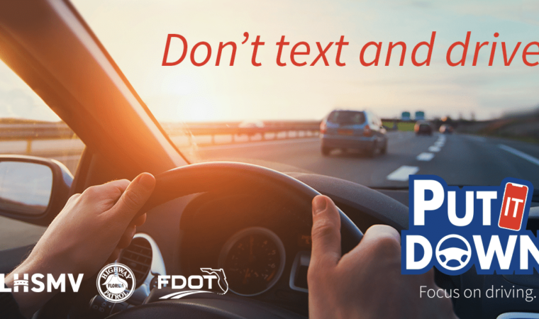 What is Florida's Texting While Driving Law?