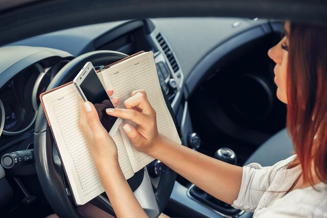 The Different Types of Distracted Driving