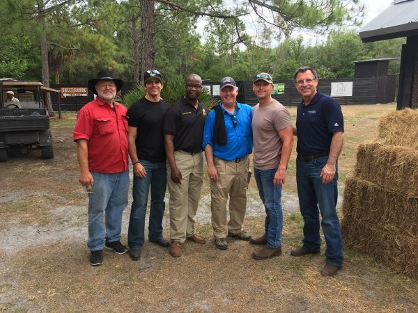 Tampa Police's Hotshots For Charity Event