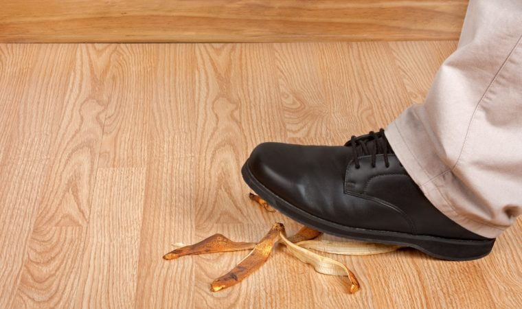 Is Your Slip & Fall Your Fault?