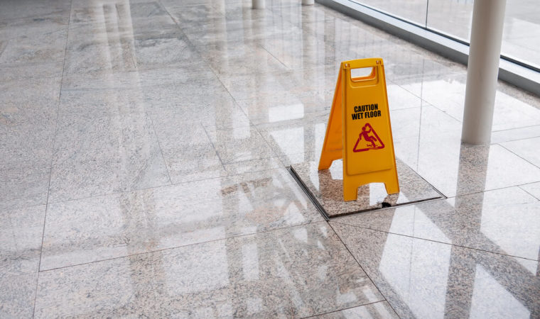 If I Slip and Fall in a Store, Can I Sue?